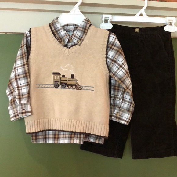 15a0313ca perfectly dressed Matching Sets | Boys Sweater Vest And Corduroy ...